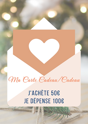 La Carte Cadeau/Cadeau 50/100