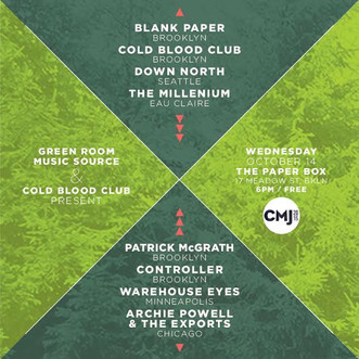 CMJ 2015 - GRMC's 9th Annual Showcases in NYC