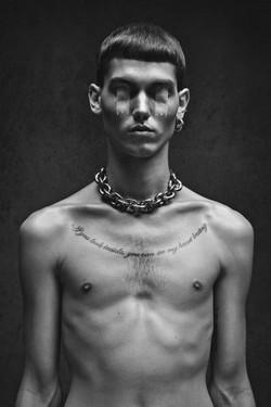Kriss Logan test mannequin