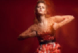 kriss logan, photographe, mode, fashion, éditorial, mannequin, rouge, red sonja