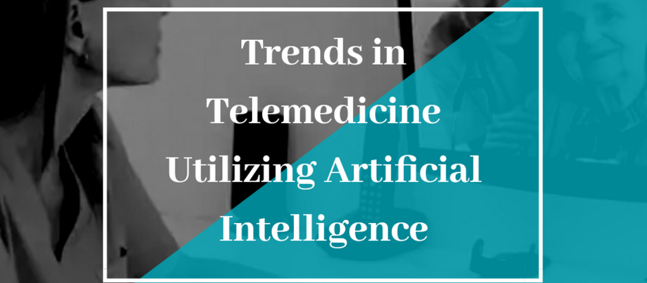 Trends in Telemedicine Utilizing Artificial Intelligence