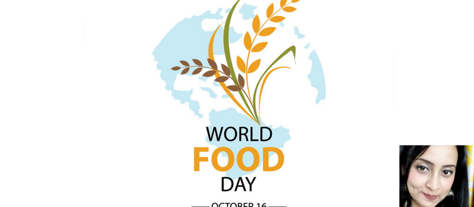Celebration of world food day  by feeding all living beings