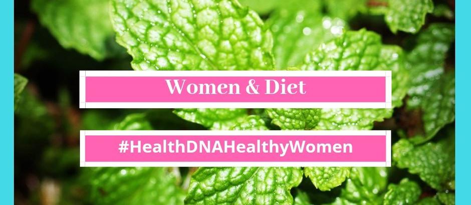 A balanced diet for women