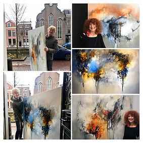 Schilderijen Ria Nieswaag bij De Galerie Den Haag