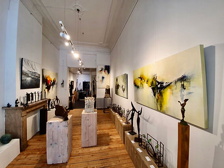 Eerste expositie bij Frans Vanhove Art Galerie in Leuven