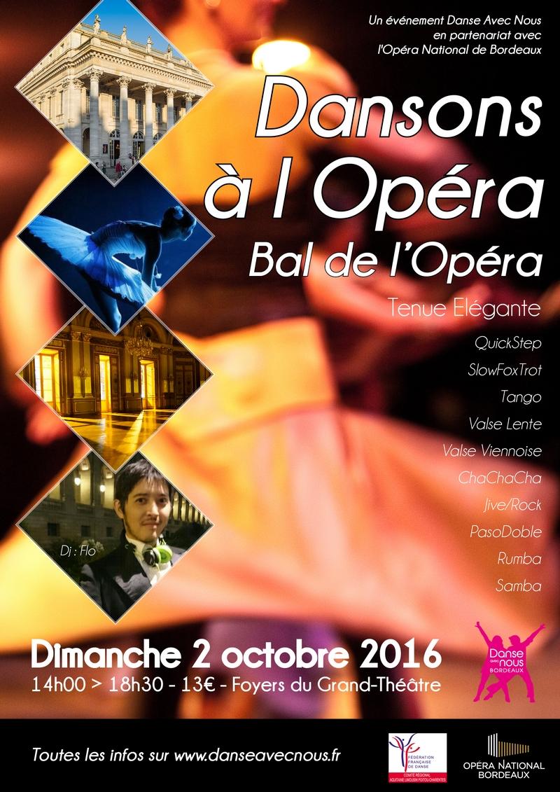 Dansons à l'Opéra Octobre 2016