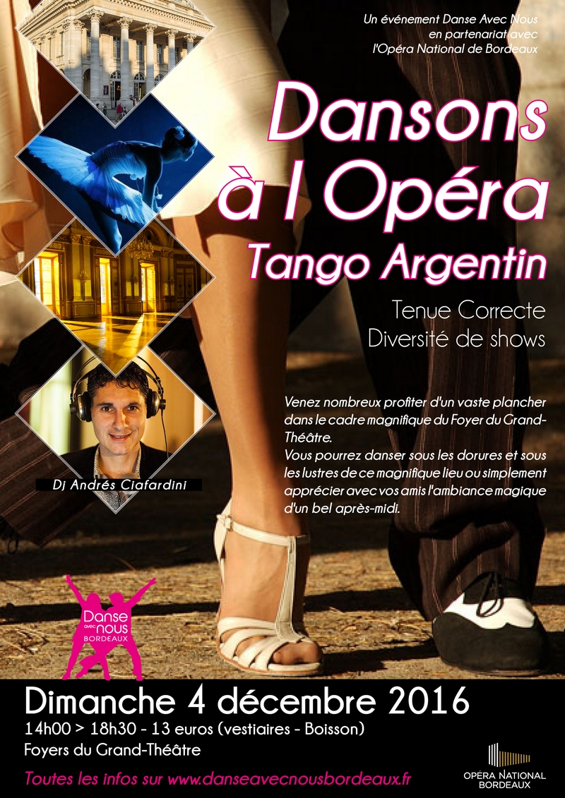 Dansons à l'Opéra Décembre 2016