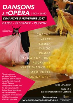 Dansons à l'Opéra Novembre 2017