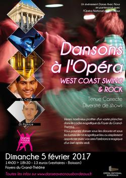 Dansons à l'Opéra Février 2017