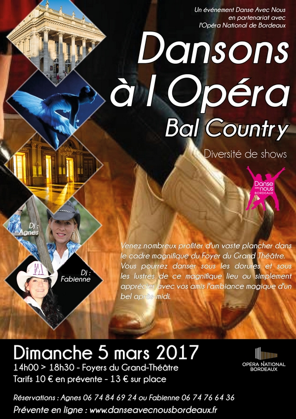 Dansons à l'Opéra Mars 2017