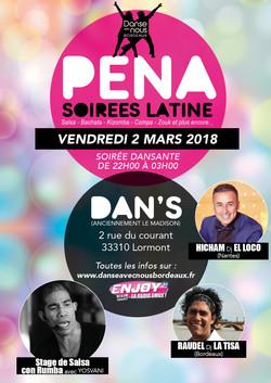 Peña Mars 2018