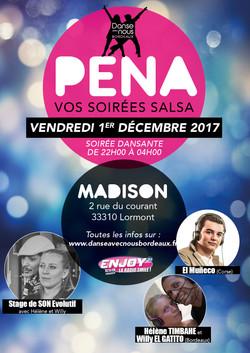 Peña Décembre 2017