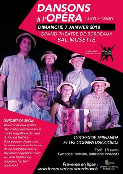 Dansons à l'Opéra janvier 2018