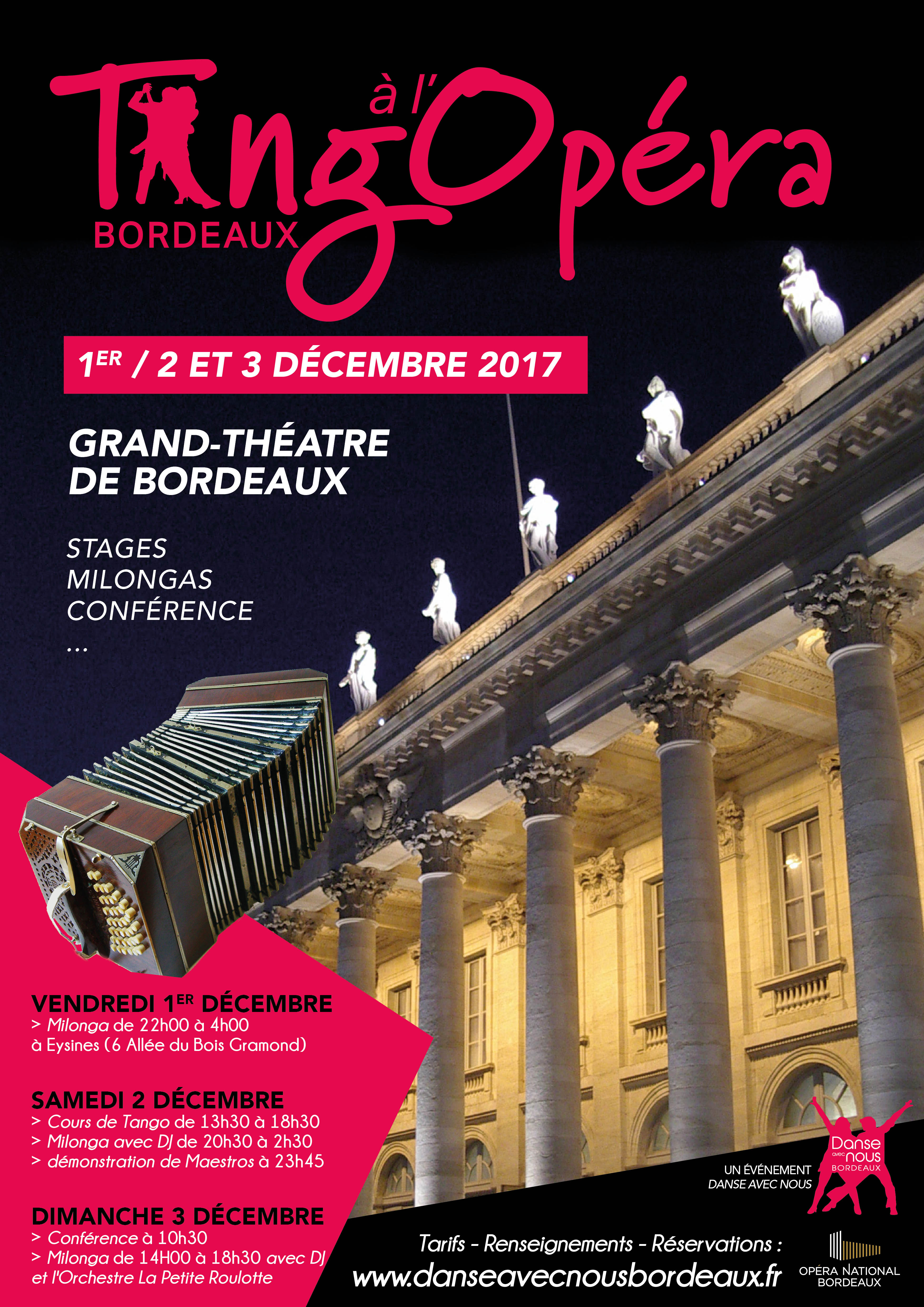 Dansons à l'Opéra décembre 2018