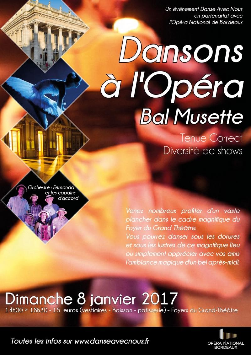 Dansons à l'Opéra Janvier 2017