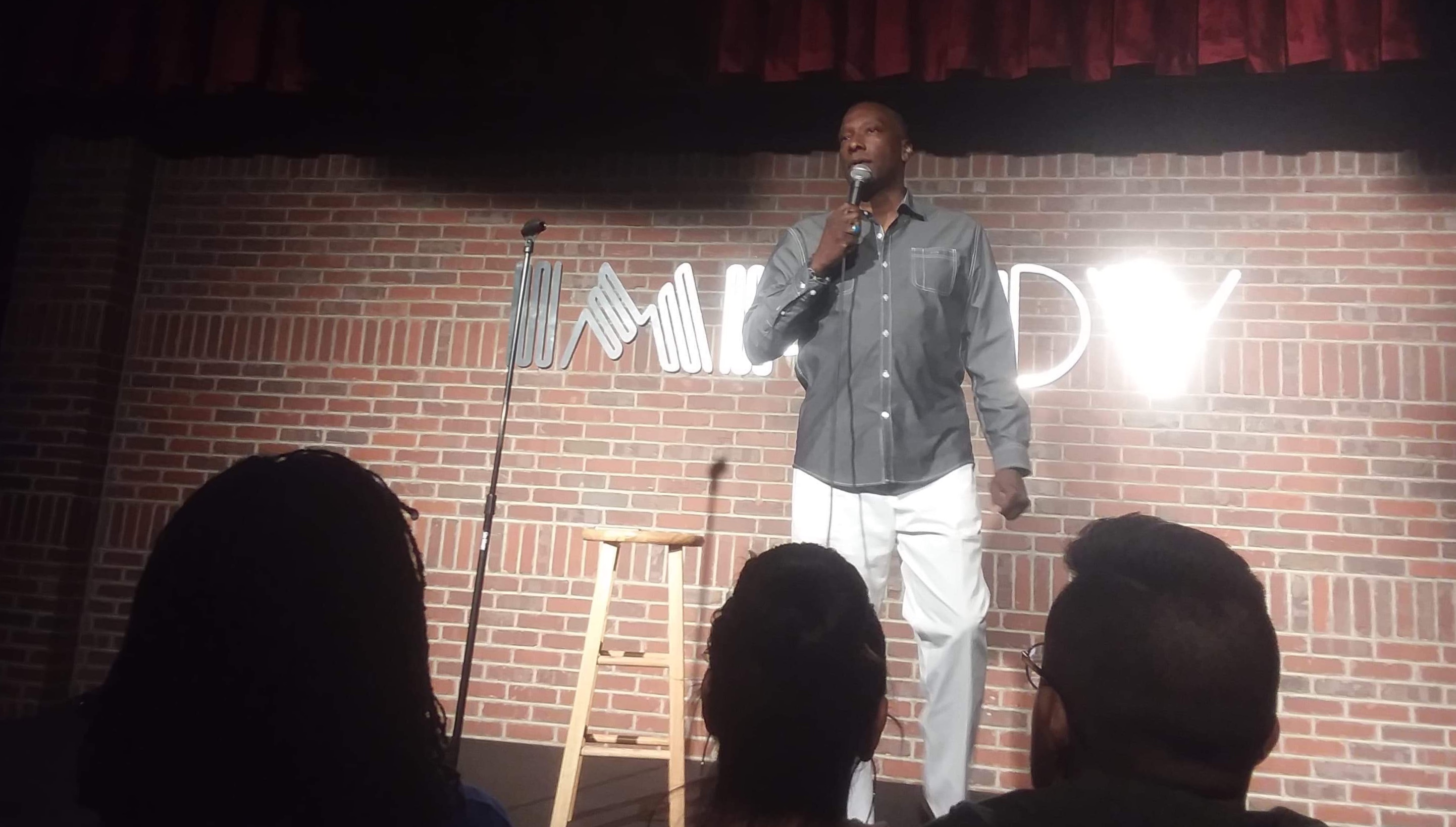 Me at Ontario Improv