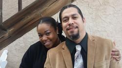 Jamie and Constance Jewel Lopez
