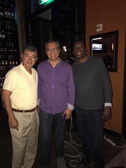 Julian Vazquez and Larry Omaha