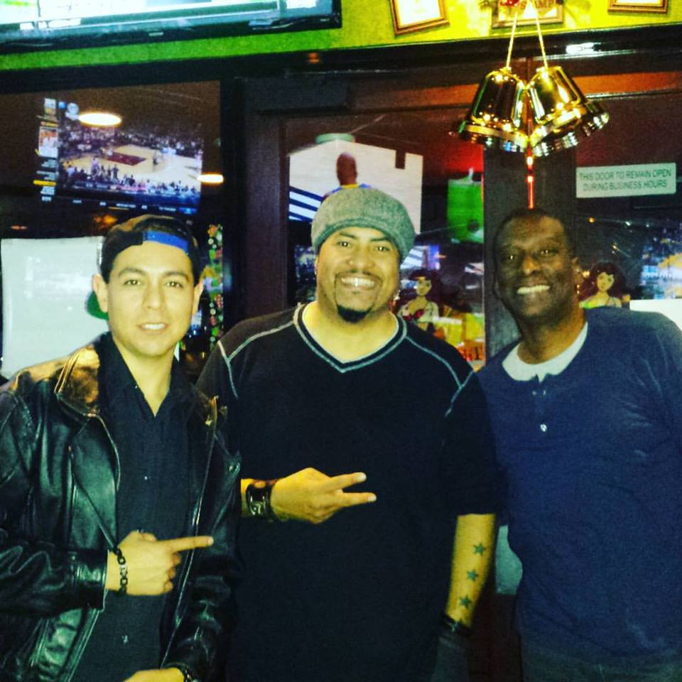 Comedians Noe Castillo and Shang