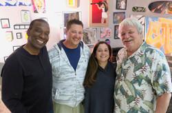 Hanging with Cynthia, Jimmie & John