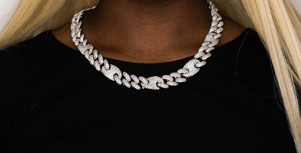 GUCCI LINK 16MM SILVER