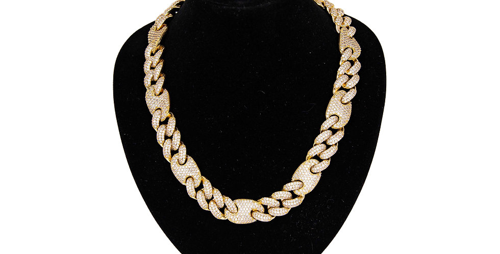 VVS - Mariner cuban link 16MM Or