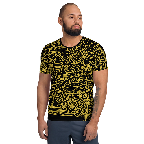 Fun 509 doodle OliGa  - All-Over Print T-Shirt