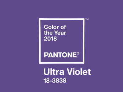 Pantone® Color Of The Year 2018