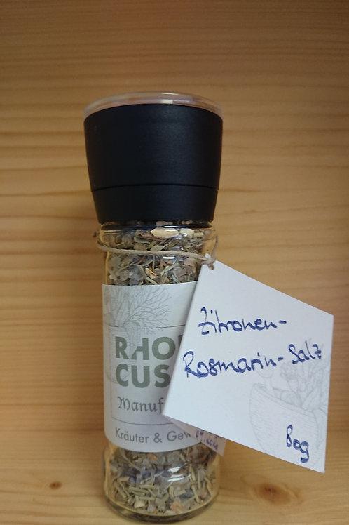 "Salzgewürzmühle ""Zitronen-Rosmarin-Salz 80g"""