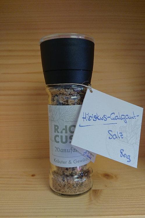 "Salzgewürzmühle ""Hibiskus-Galgant-Salz 80g"""