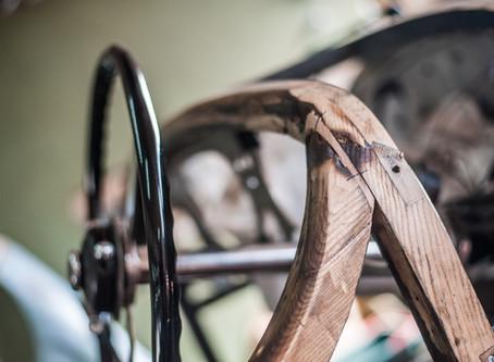 Réparation d'une Bentley accidentée