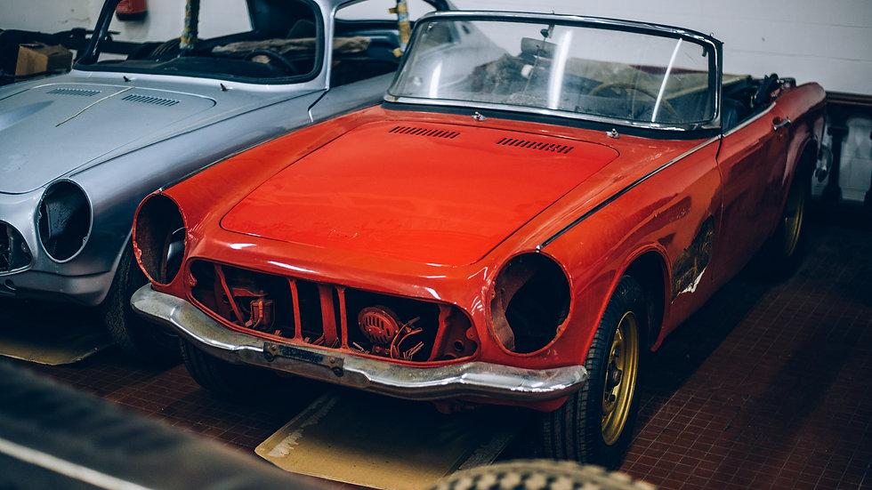 Projet | Honda S600 Cabriolet 1965