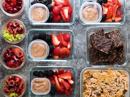 Healthy Snacks & Back to School