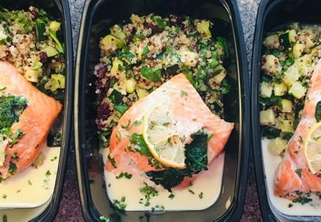 Recipe Highlight: Zucchini Quinoa Salad w/Cranberry & Spinach