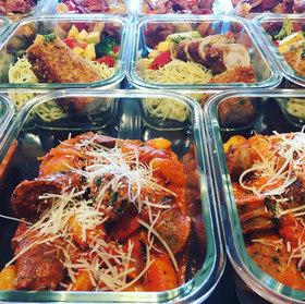 Meal Prep: Italian Sausage, Chicken Cordon Bleu