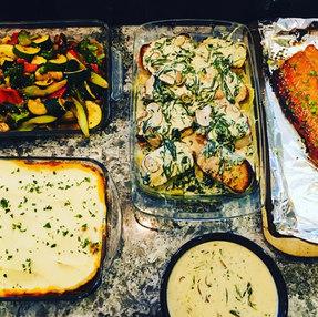 Keto Family Style Meal Prep