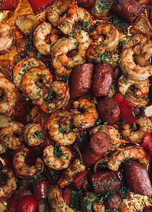 "Sheet Pan Shrimp ""Boil"""