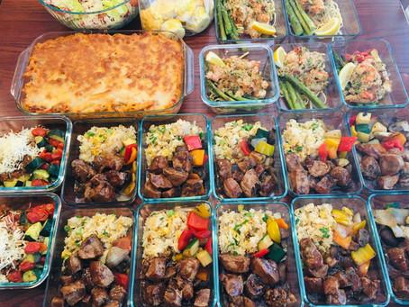 Sample Meal Prep Menus