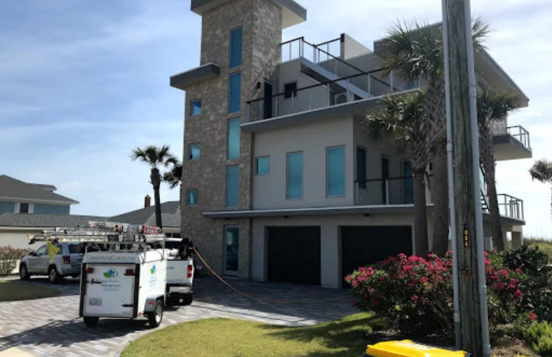 Residential window cleaning, Fernandina Beach FL