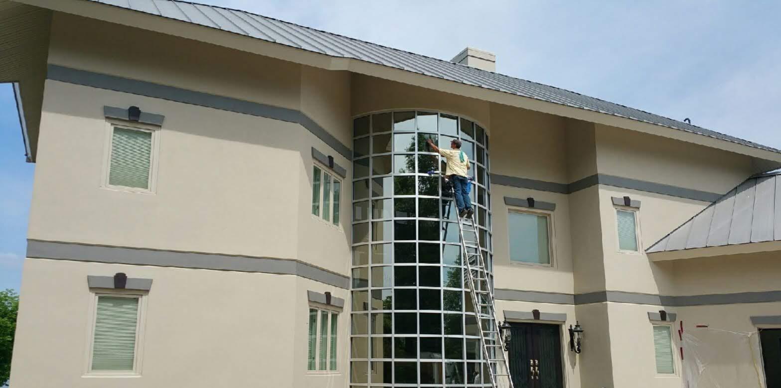 Residential window cleaning, Amelia Island Florida