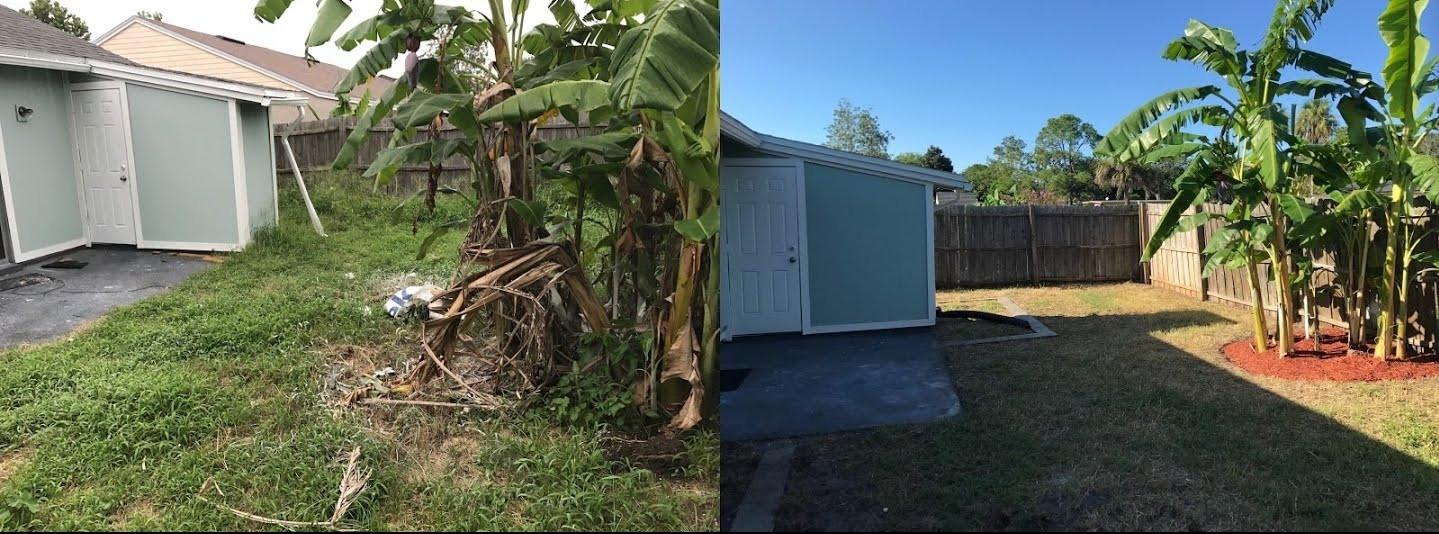 Lawn Clean-Up, Fernandina Beach FL