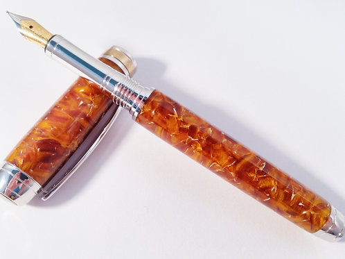 Conway Stewart Italian acrylic and rhodium fountain pen