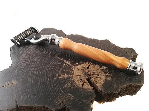 Bethlehem Olive wood mach3 razor