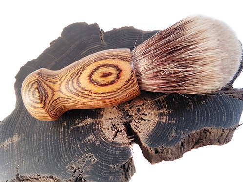 Panga Panga wood silvertip badger hair brush