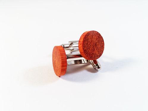 Padauk wood Cufflinks