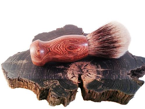 Wenge wood silvertip badger hair brush