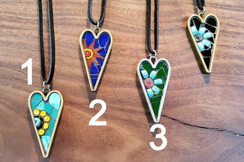 Mosaic Necklaces by Madhouse Mosaics
