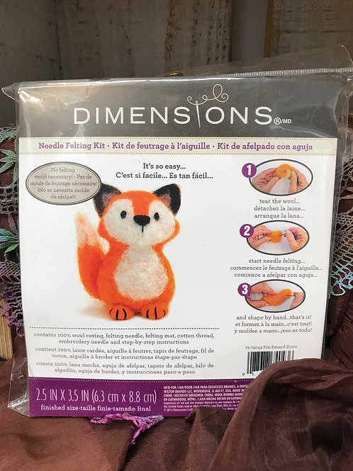 Mini Needle Felting Kits by Dimensions