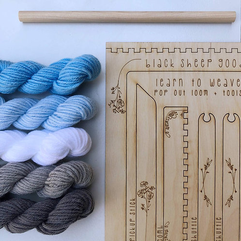 DIY Tapestry Weaving Kit-Cloud