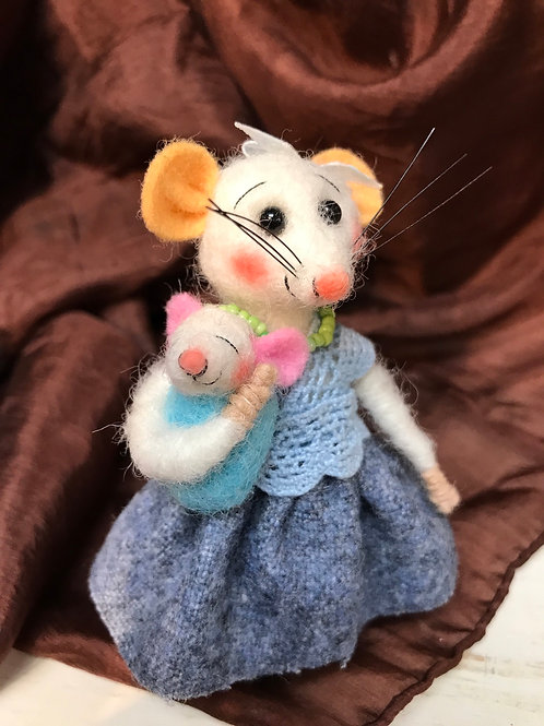 Gertrude Mouse and Annabelle Baby